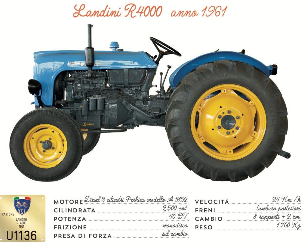 Landini R4000 - 1961