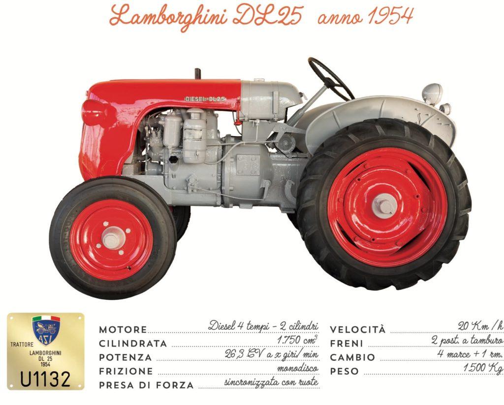 Lamborghini DL25 - 1954