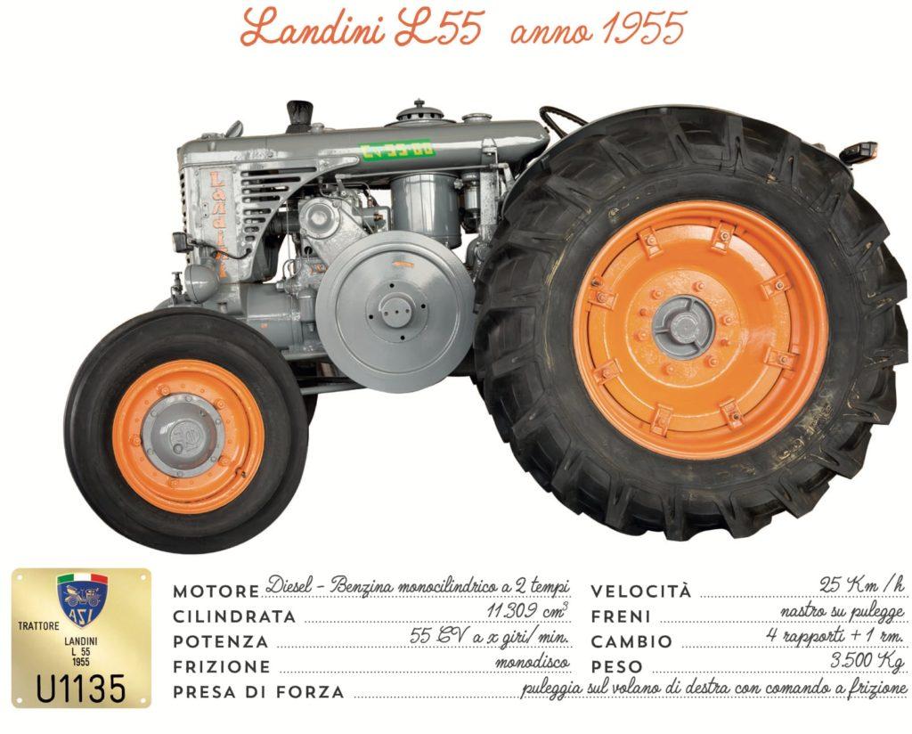 Landini L55 - 1955
