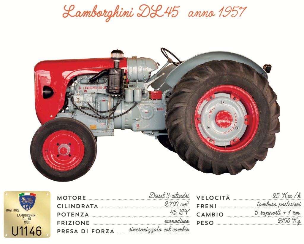 Lamborghini DL45 - 1957
